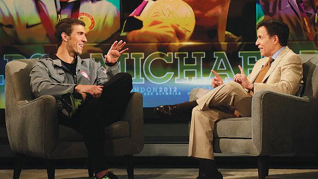 2012-28 REV Olympics Michael Phelps Bob Costas H