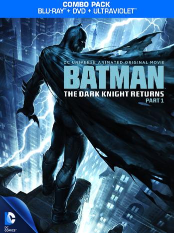 Dark Knight Returns DVD Box - P 2012