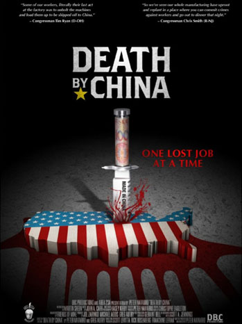 Death by China Poster Art - P 2012
