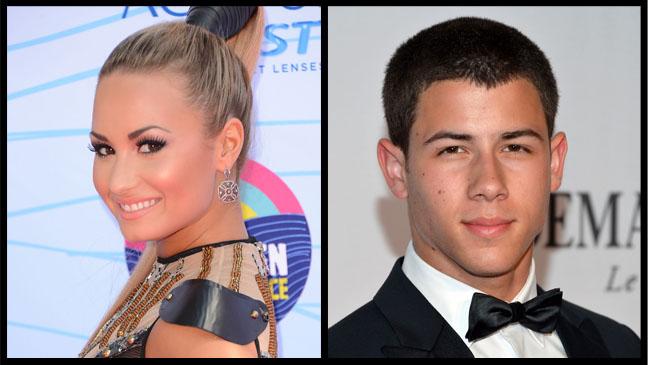 Demi Lovato Nick Jonas - H 2012