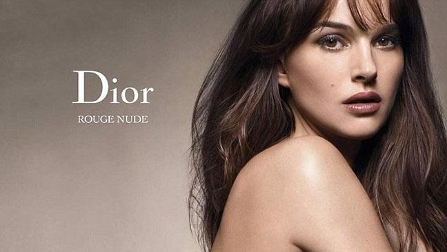 Natalie Portman Dior Rogue nude ad - H 2012