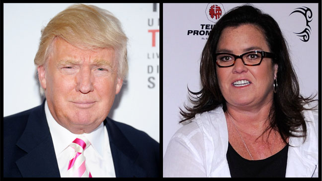 Donald Trump Rosie O'Donnell - H 2012