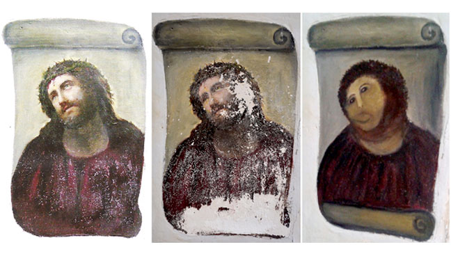 Ecce Homo Paintings - H 2012