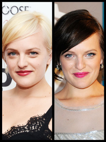 Elisabeth Moss Hair Split - P 2012