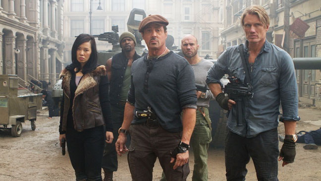The Expendables Nan Stallone Lundgren Crews Couture - H 2012