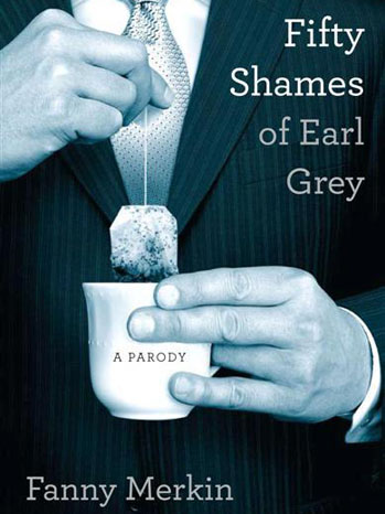Fifty Shames of Grey Book Cover - P 2012