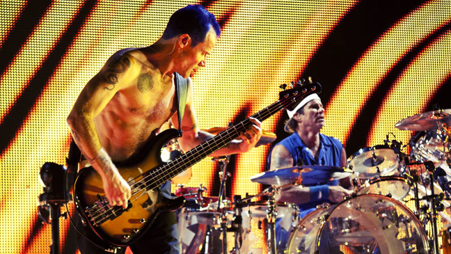 Red Hot Chili Peppers Flea Staples Center - H 2012