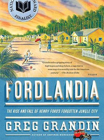 Fordlandia Book Cover - P 2012