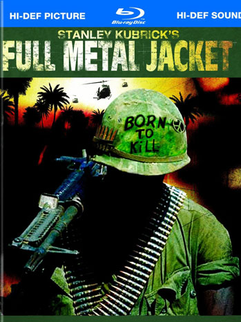 Full Metal Jacket Blu-Ray Cover - P 2012