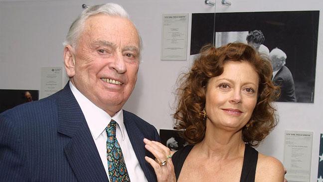 Gore Vidal & Susan Sarandon