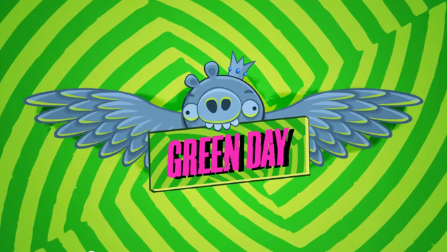 Green Day Angry Birds L
