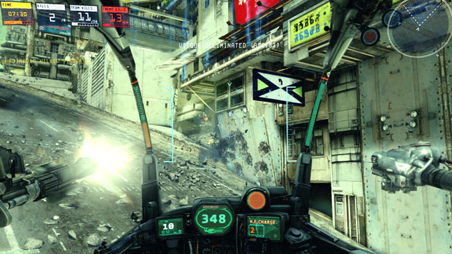 Hawken Video Game Still - H 2012