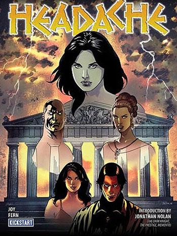 Headache Graphic Novel Cover - P 2012