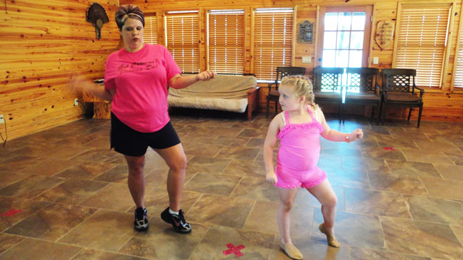 Here Comes Honey Boo Boo with choreographer - H 2012
