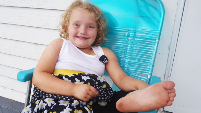 Here Comes Honey Boo Boo in chair - H 2012