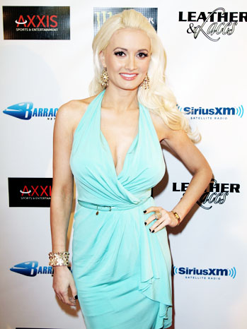 Leather & Laces Red Carpet Holly Madison - P 2012