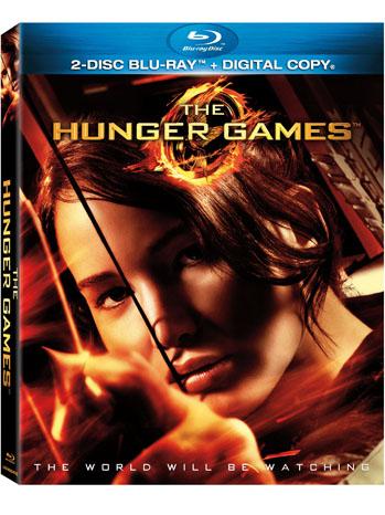 Hunger Games Blu-Ray DVD Art - P 2012