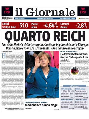 Il Giornale Merkel Newspaper - P 2012