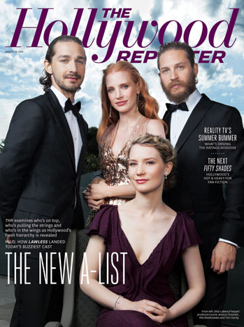 2012 Issue 28: Hollywood's New A-List Actors Revealed