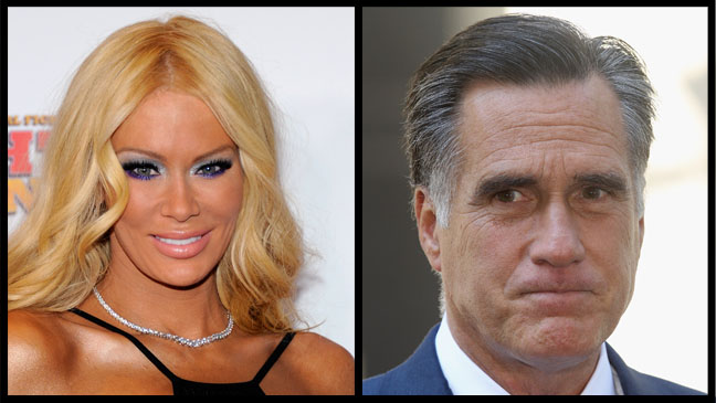 Jenna Jameson Mitt Romney Split - H 2012