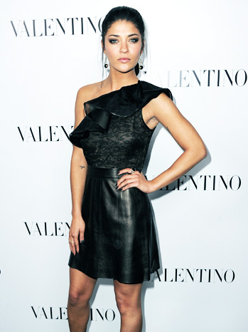 Valentino Red Carpet Jessica Szohr - P 2012