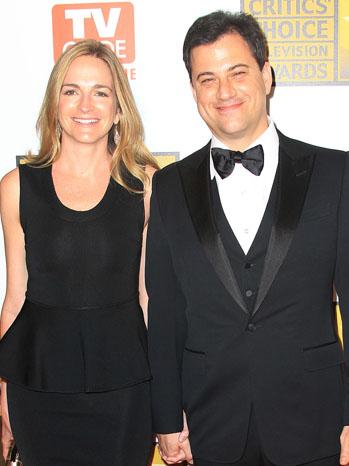 Jimmy Kimmel Molly McNearney - P 2012