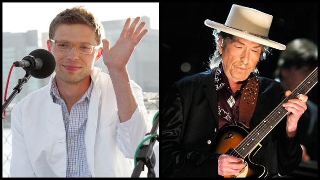 Jonah Lehrer Bob Dylan split L