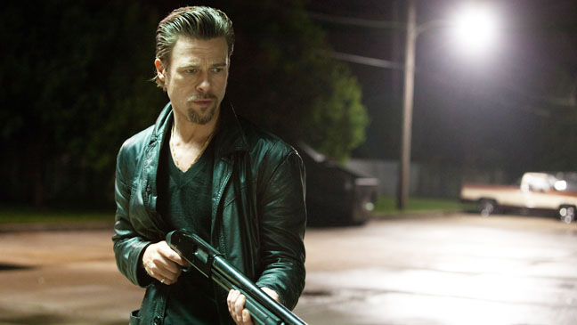 Killing Them Softly Brad Pitt Gun - H 2012