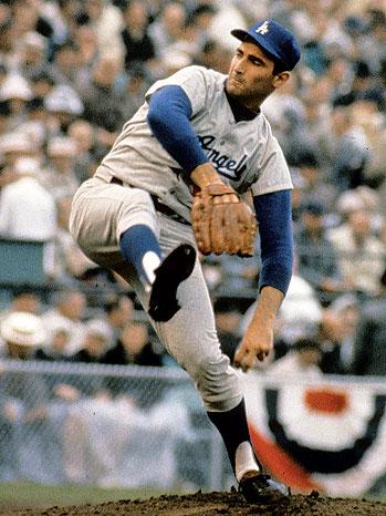 2012-28 FEA Dodgers Sandy Koufax P