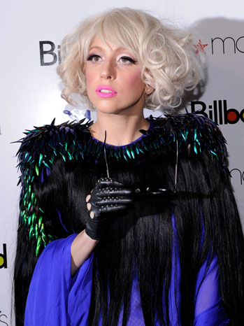 Lady Gaga Women in Music Red Carpet - P 2012