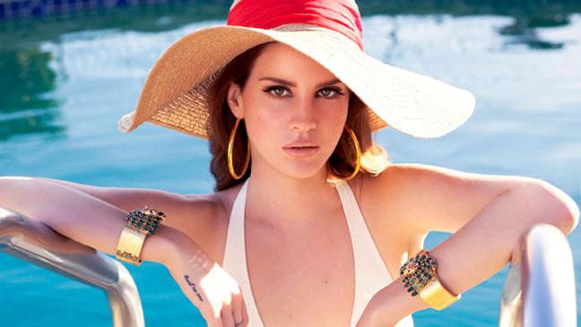Lana Del Rey Jaguar Pool - H 2012