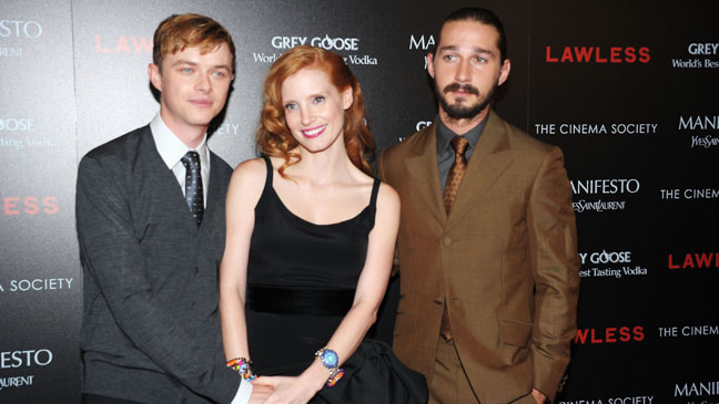 Lawless Premiere Chastain LaBeouf DeHaan - H 2012