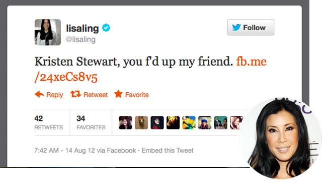 Lisa Ling K Stew Tweet Inset - H 2012