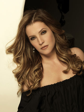 Lisa Marie Presley Headshot - P 2012