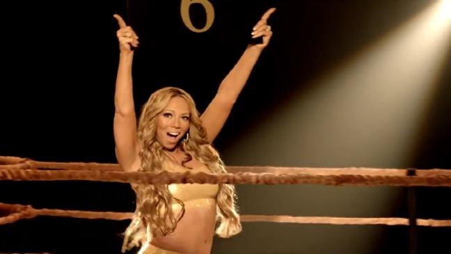 Mariah Carey Triumphant Screengrab - 2012 H
