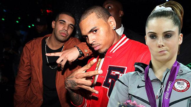 McKayla Not Impressed Chris Brown Drake - H 2012
