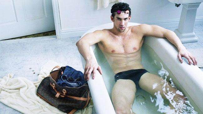 Michael Phelps Louis Vuitton Ad - H 2012