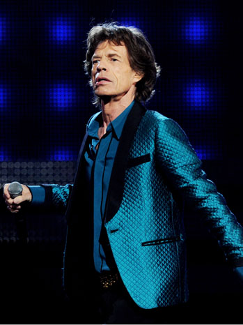 Mick Jagger 53rd Annual GRAMMY Awards - P 2012