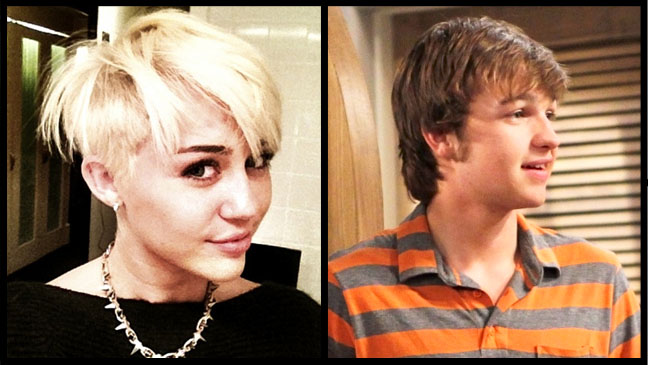 Miley Cyrus Angus T. Jones Split - H 2012