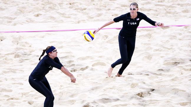 Summer Olympics Misty May-Treanor Kerri Walsh Vollyball - H 2012