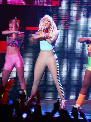 Nicki Minaj Roseland NY Performance 8/14 - P 2012