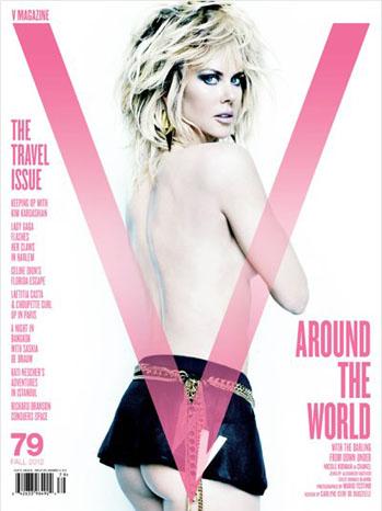 Nicole Kidman V Magazine Cover - P 2012
