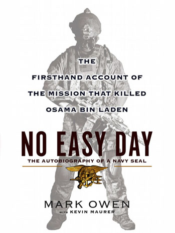 No Easy Day Bin Laden Book Cover - P 2012