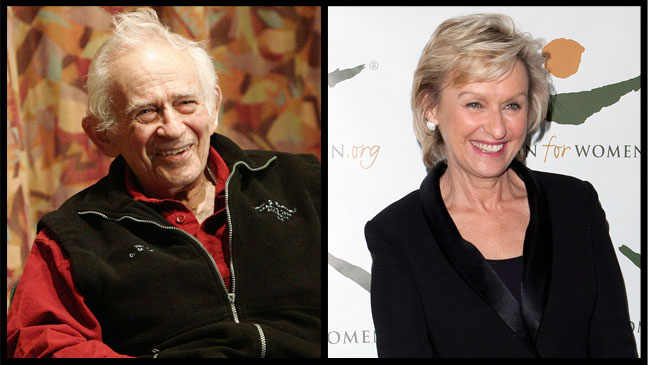 Norman Mailer Tina Brown Split - H 2012