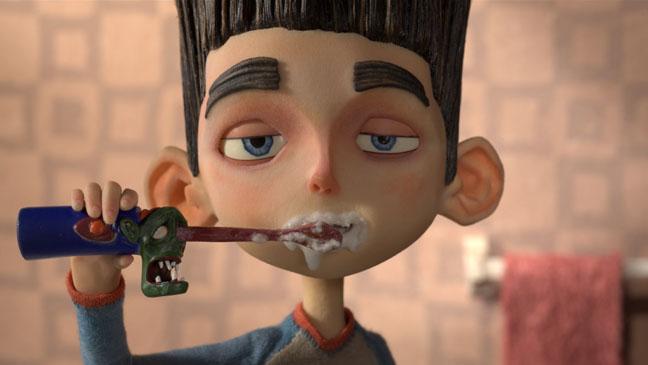 Paranorman Toothbrush Scene - H 2012