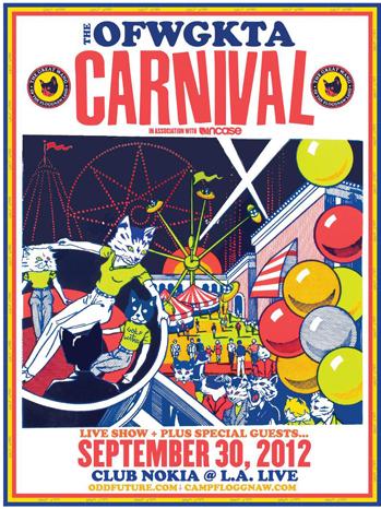 Odd Future carnival poster P