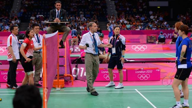 Olympic badminton - H 2012