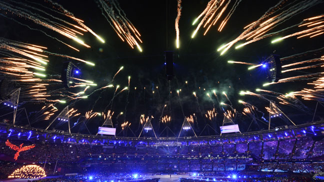 Olympic Closing Ceremony Arena View - H 2012