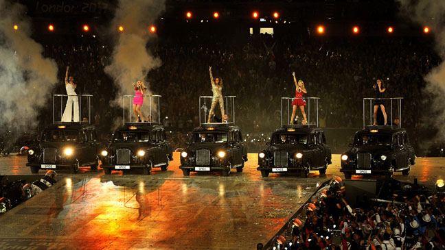 Olympics Closing Ceremony Spice Girls - H 2012