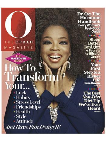 O Oprah Magazine September Cover - P 2012